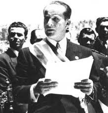 Jacobo Arbenz Guzman, president of Guatemala during the 1951 -1954