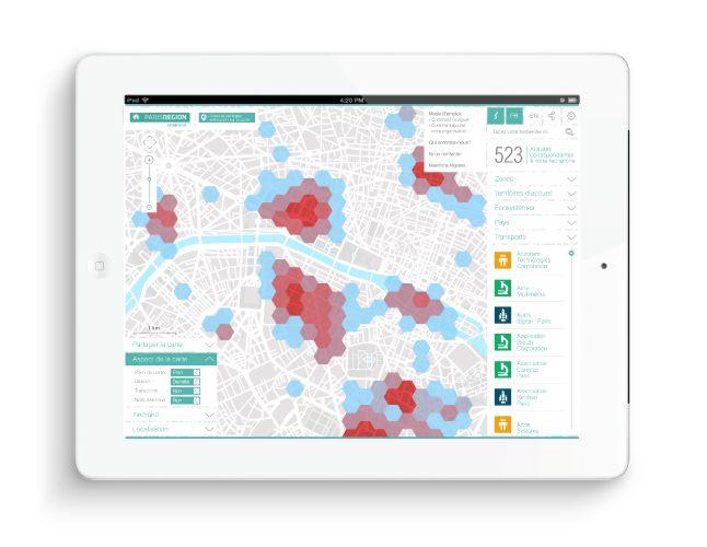 Nouvelle carte interactive Econovista | Phileman - Agence de communication et de…
