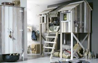 Trendbloggen: Barnerom: Tre-hytte-seng
