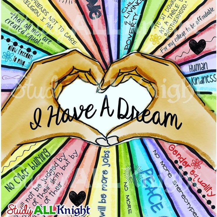 I Have a Dream 2017 just got personal! For years I taught one of the most famous speeches and always focused on the speech itself. I realized the reason the speech is so amazing is because it is personal to each person that reads it and listens to it. Get your students to reflect with this awesome writing activity. Print and tech versions included! #Regram via @studyallknight