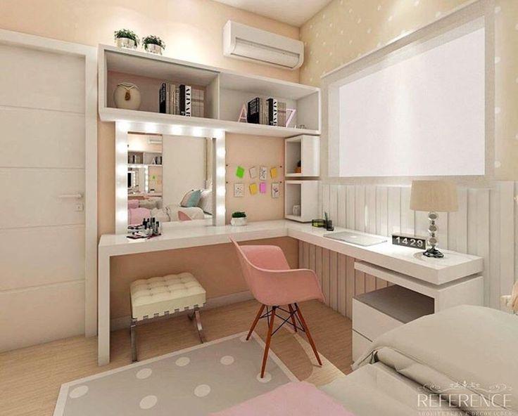 die besten 25 m dchen schreibtisch ideen auf pinterest teenager m dchen schreibtisch zimmer. Black Bedroom Furniture Sets. Home Design Ideas