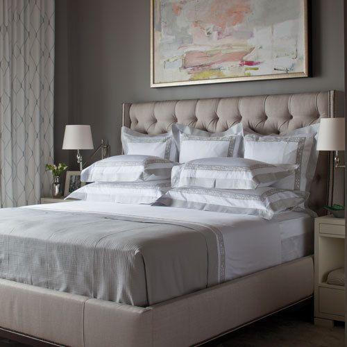 Buy Luxury Diamond Tufted Winged Headboard Queen Bed