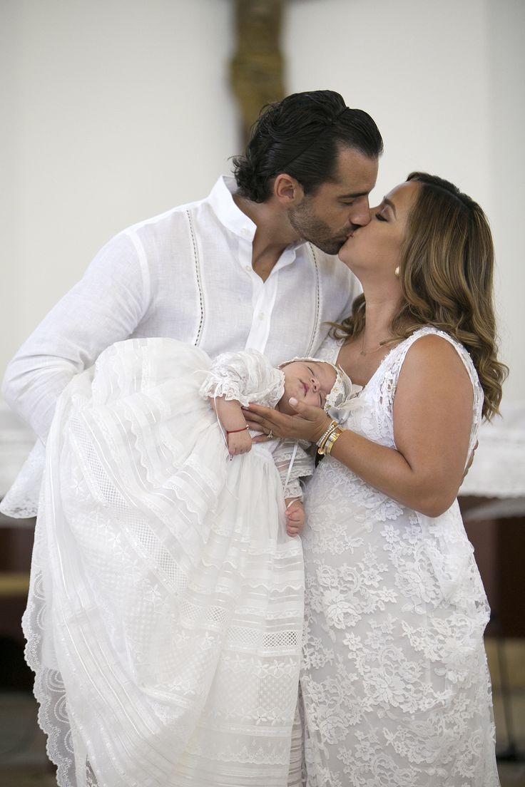 Adamari López bautizó a Alaïa en Puerto Rico