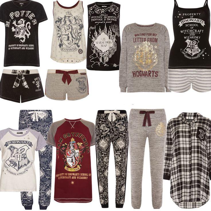 Ladies HARRY POTTER HOGWARTS MARAUDERS MAP Pyjamas PJ T Shirt Leggings Primark…