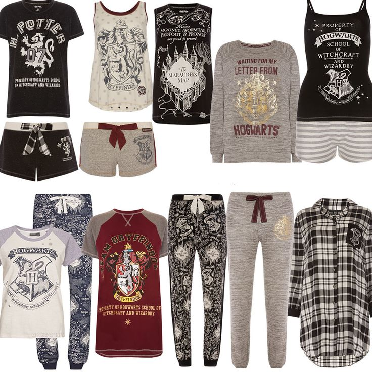 Ladies HARRY POTTER HOGWARTS MARAUDERS MAP Pyjamas PJ T Shirt Leggings Primark in Clothes, Shoes & Accessories, Women's Clothing, Lingerie & Nightwear | eBay!