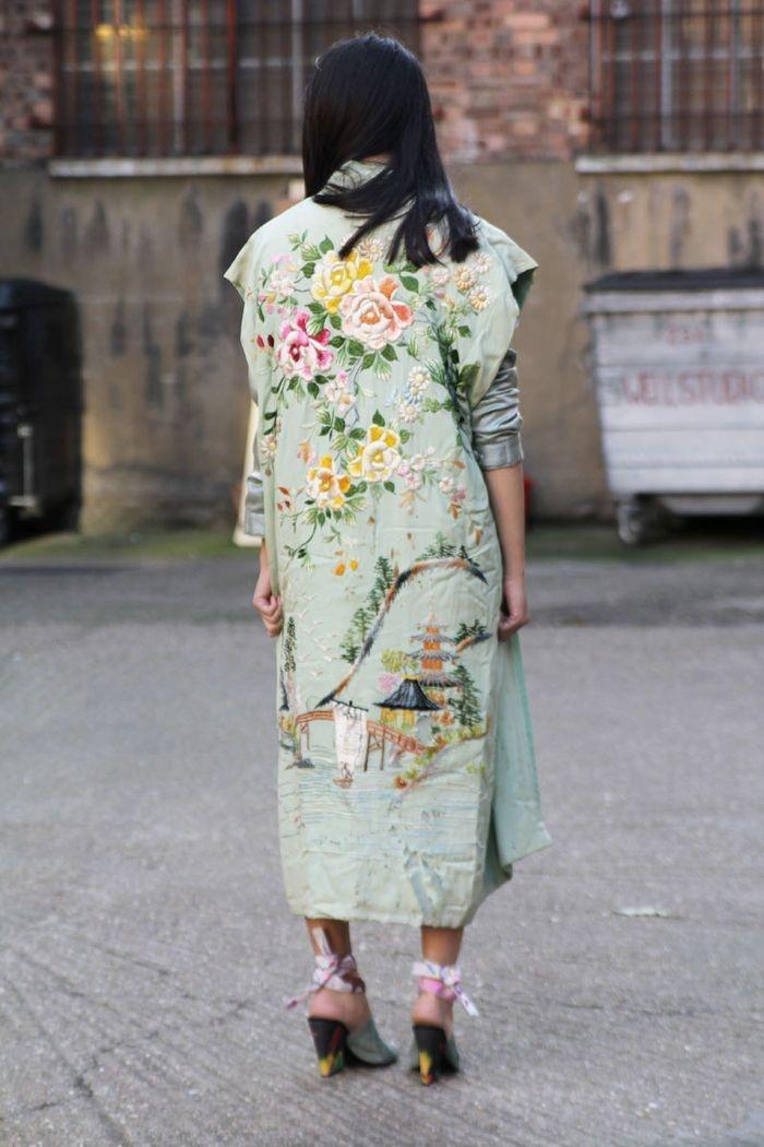 i feel like kimonos should have more presence in fashion #igotathingfor silk kimonos!