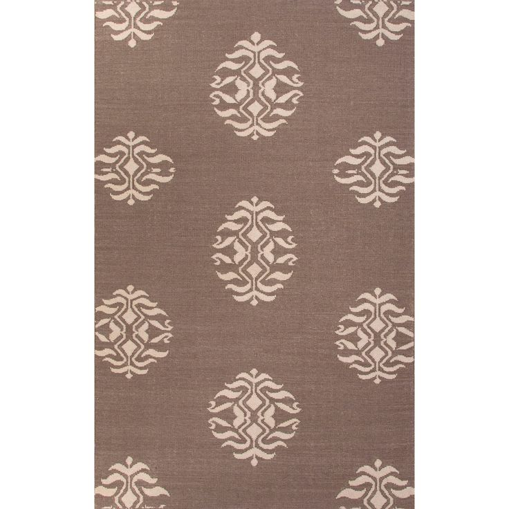 Jaipur Rugs RUG112253 Flat-Weave Tribal Pattern Wool Gray/Ivory Area Rug ( 8x10 )