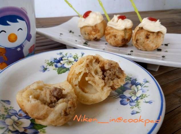 Takoyaki Daging Tumis