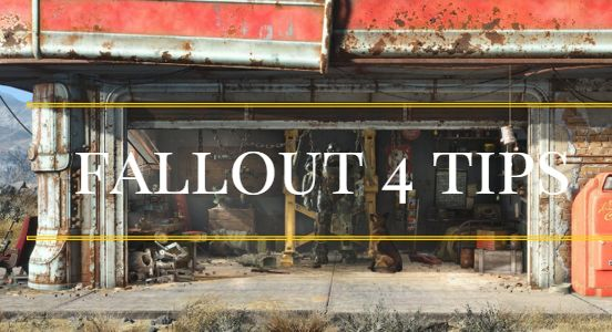 Here are some great Fallout 4 tips on playing the game.