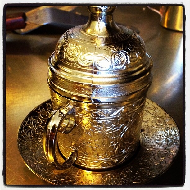 Traditional #Turkish #coffee cup - @alvinsofsf- #instagram #caffeine #morning #tuesday #gourmet