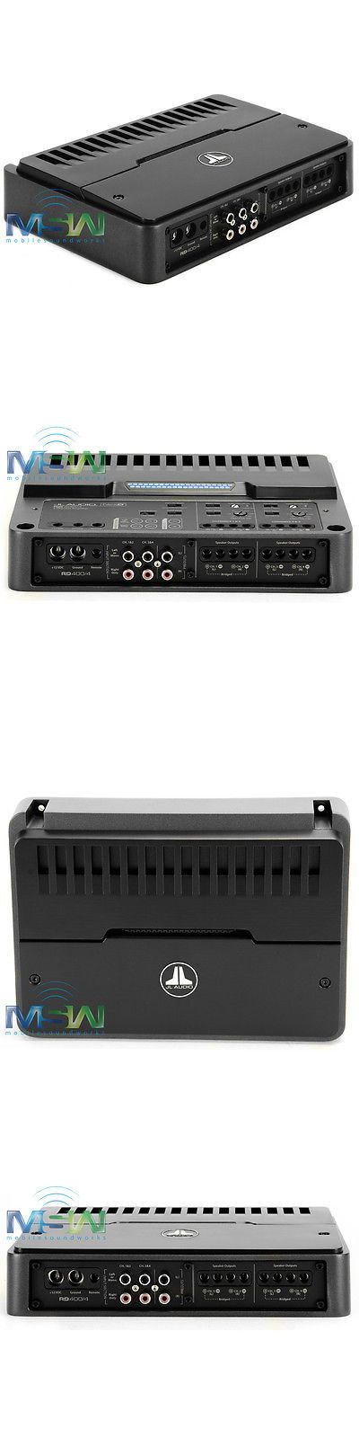 Car Amplifiers: *New* Jl Audio Rd400/4 Rd Series Nexd™ 4 Channel Class D Car Audio Amplifier -> BUY IT NOW ONLY: $299.95 on eBay!