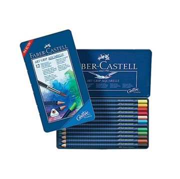 Faber-Castell Art Grip Aquarell Boya Kalemi 12 Renk detaylı bilgi