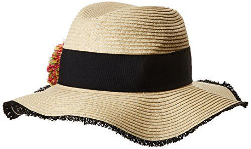 Betsey johnson women's pom panama hat – Products