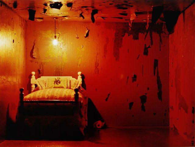 Premonition Ciegos (cama) C-print, Adia Millet. Transformación.