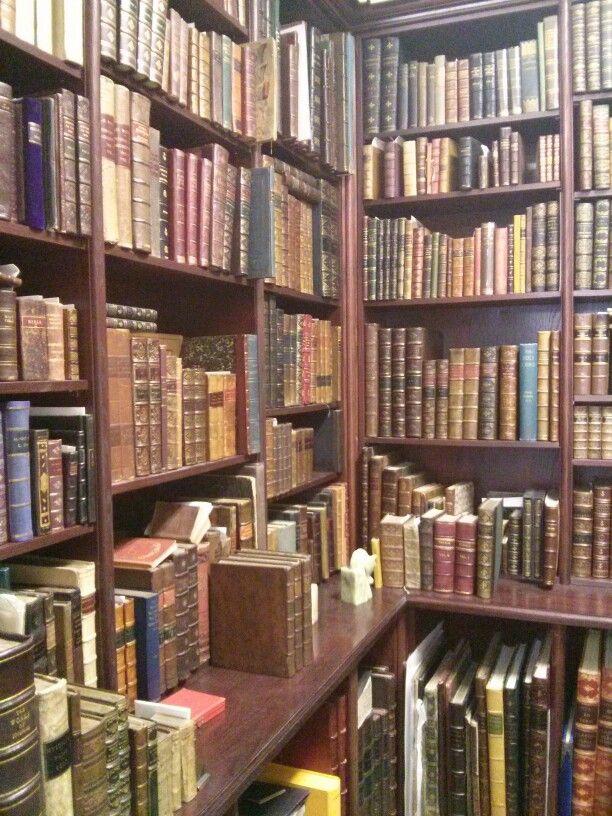 Librairie de livres anciens de Toronto.