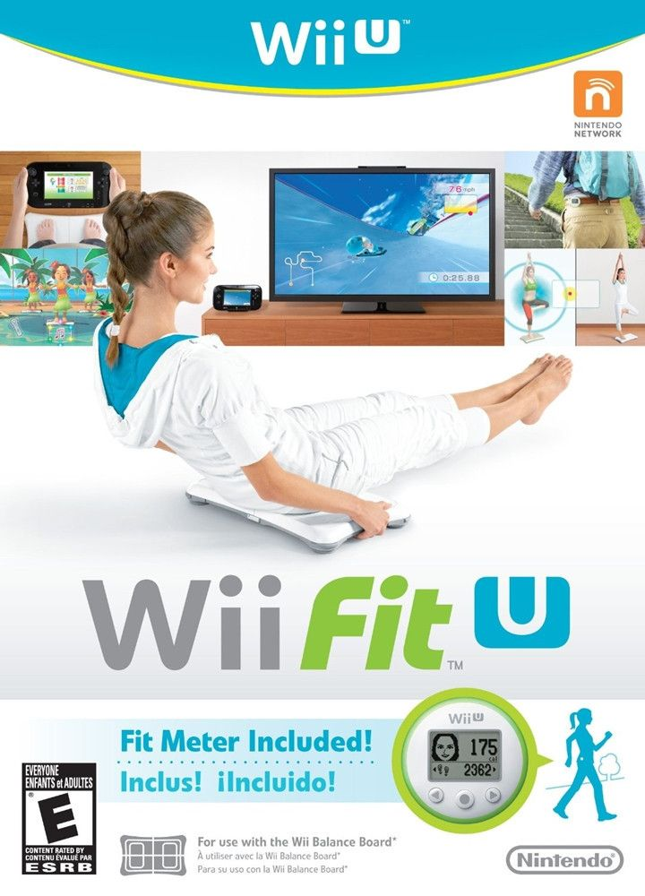 Nintendo Wii Fit U with Fit Meter Green Bundle [Wii U Game]