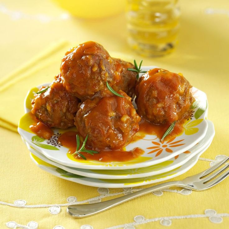 Porcupine Meatballs Recipe -These well-seasoned meatballs in a rich tomato sauce are one of my mom's best main dishes. I used to love this meal when I was growing up. I made it at home for our children, and now my daughters make it for their families. -Darlis Wilfer, Phelps, Wisconsin