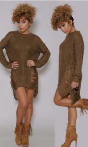 Long Sleeve Fashion Casual Cotton Sweater www.essish.com