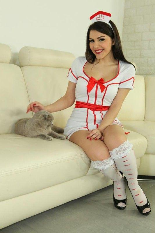 Valentina nappi cosplays and sex as tifa lockhart ff7 2
