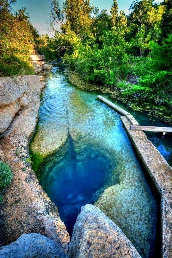 Jacobs Well in Texas