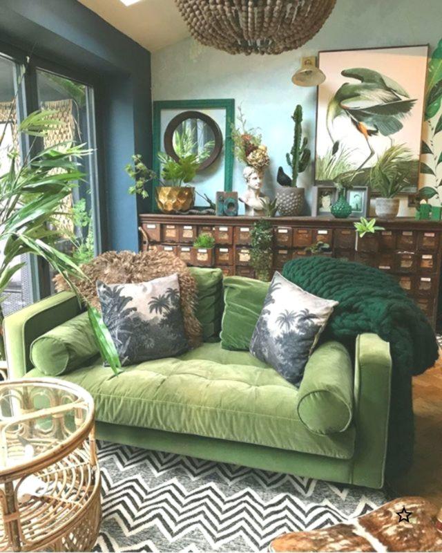 This Is Insane But Really Cool Botanical Dark Boho Living Room Dreams With A F Boho Botani Living Room Color Schemes Living Room Color Boho Living Room
