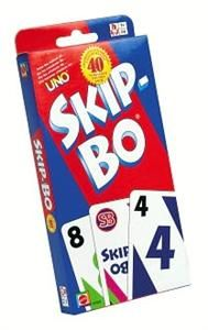 Skip-Bo is the ultimate sequencing card game from the makers of UNO! Ages 7+ #FamilyFun