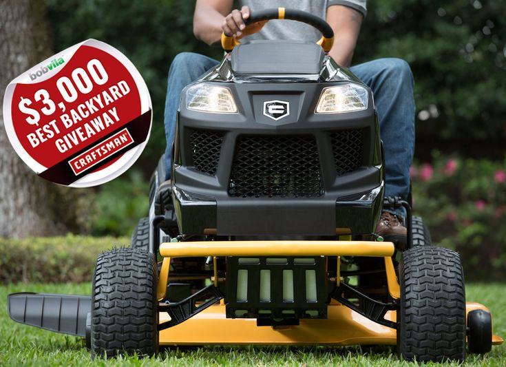 Enter today and every day to win $3000 of Craftsman lawn and garden tools!
