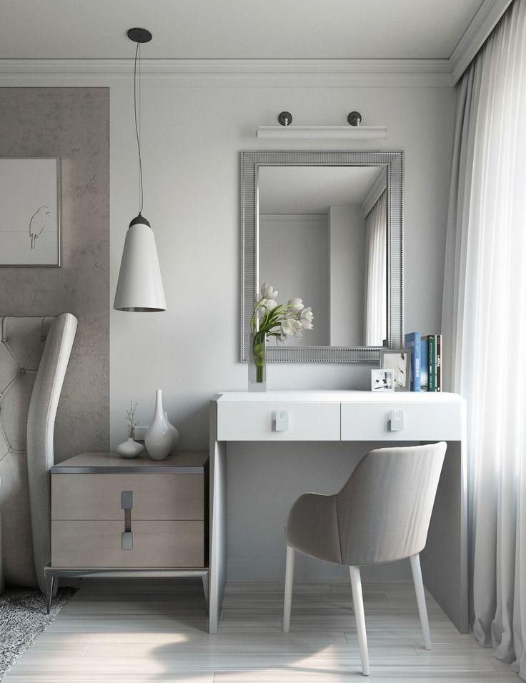 Gray Bedroom on Behance