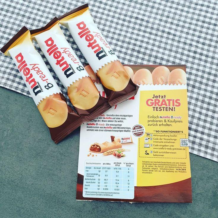 [unbezahlte Werbung] Gerade habe ich auf der Verpackung von #nutellabready von E… – Backen Ideen