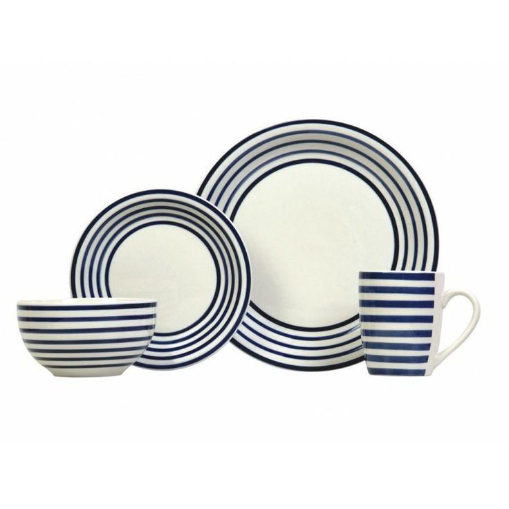 16pc Portabello Dinner Set - Dinnerware - Dining #Sabichi #Dinnerware #sabichistyle