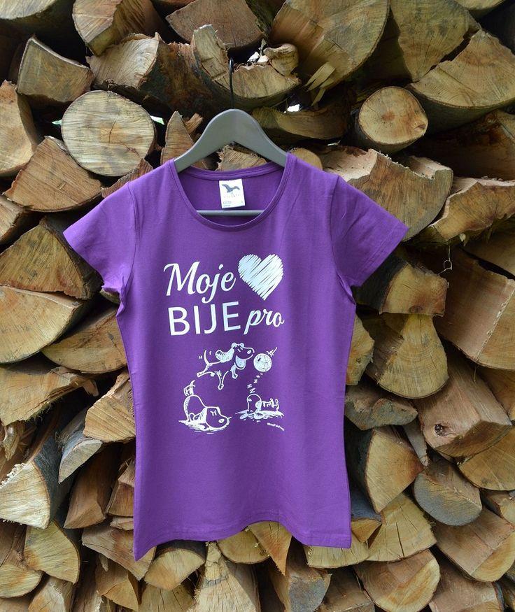 Bije i Vaše srdíčko pro psy? Máte také tak rádi psy jako my? Pak právě toto tričko je jako pro Vás dělané.
