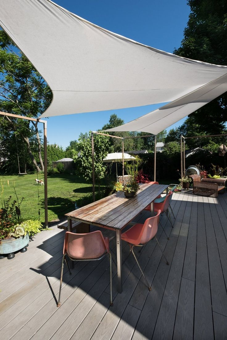 Best 25 Deck Canopy Ideas On Pinterest Shade For Patio