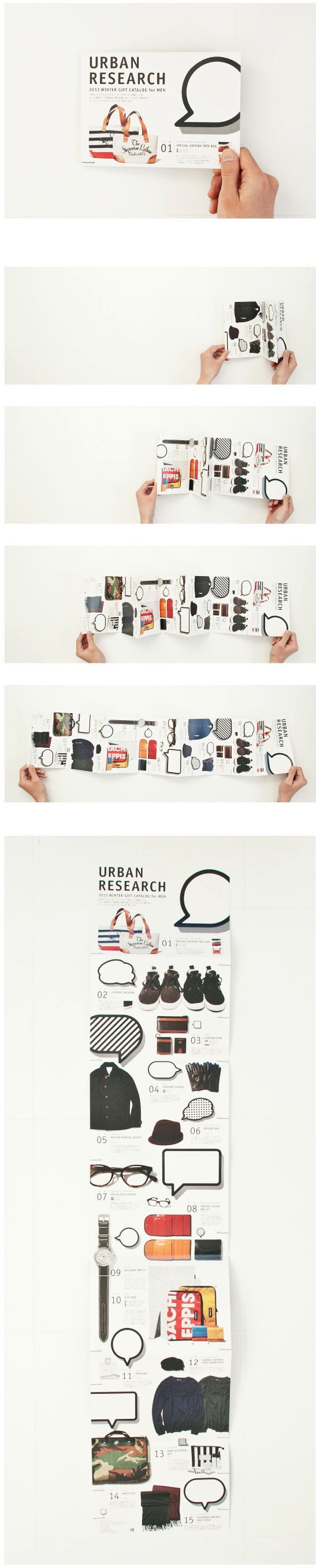 URBAN RESEARCH 2011 Winter GIFT CATALOG for MEN      |