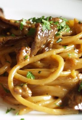 Thermomix Pasta with Porcini