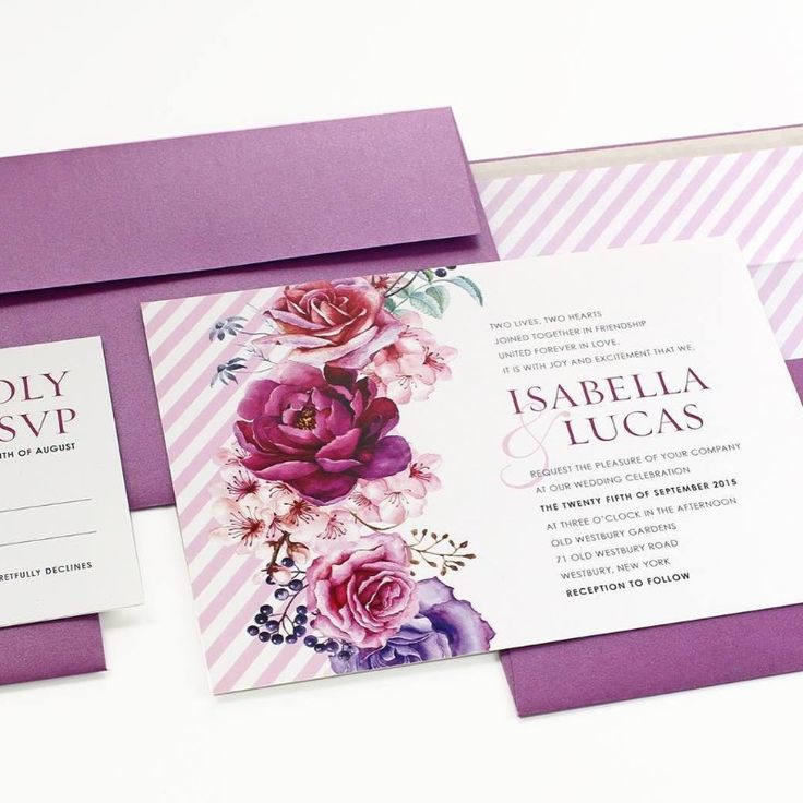 how far in advance should you send wedding invitations%0A Classic and elegant this invitation is highlighted by the beautiful  watercolor florals in hues of pinks