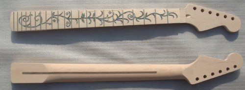 Unfinished electric guitar parts ,Strong Guitar Neck