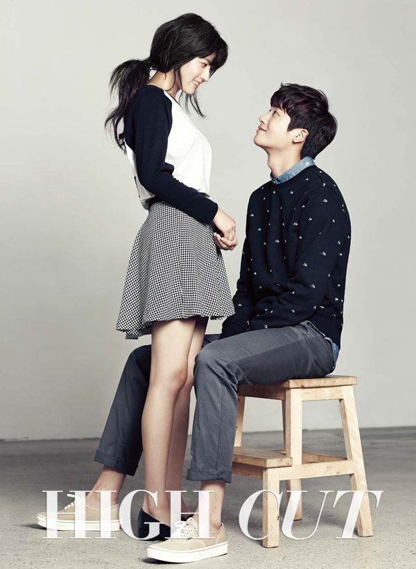 Nam Ji Hyun Gets Some Park Hyung Sik Oppa Affection in New Couples Pictorial | A Koala's Playground