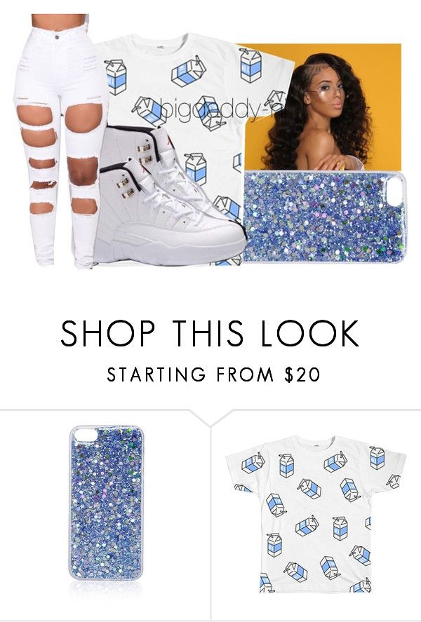 """""""BABY BLUE"""" by bigdaddy-ni ❤ liked on Polyvore featuring Topshop, Retrò and Amina"""