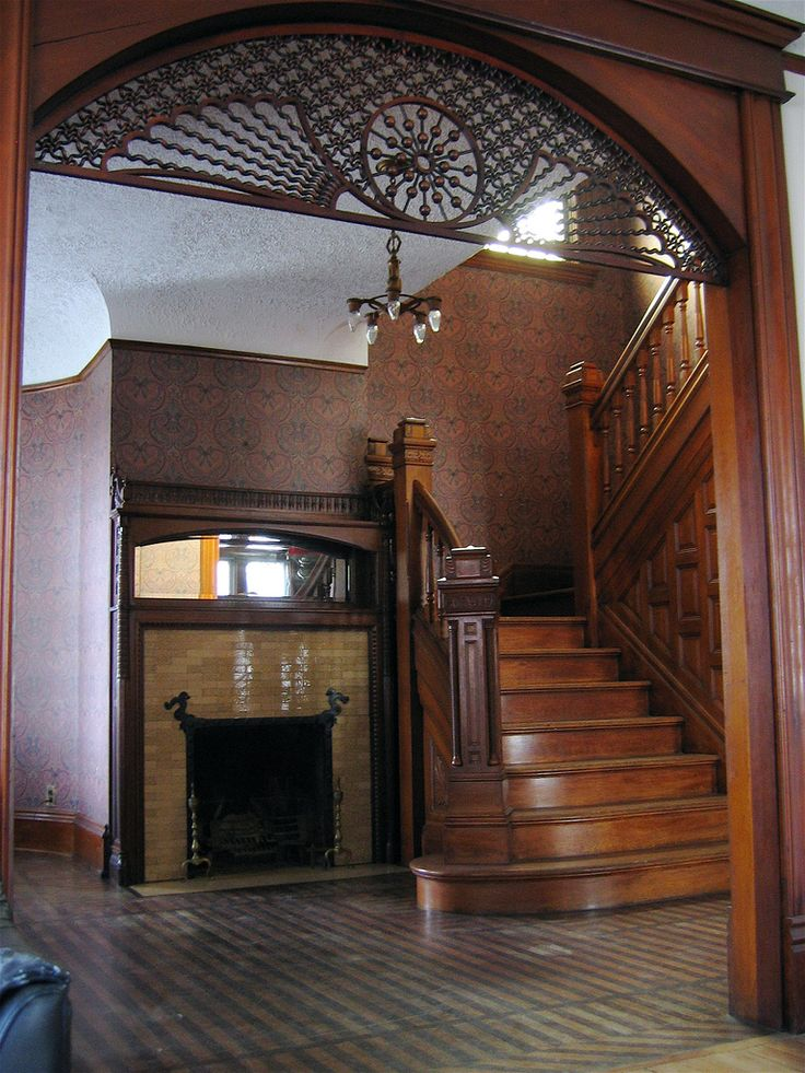 Victorian Era Foyer : Staircase and foyer it s all in the details pinterest
