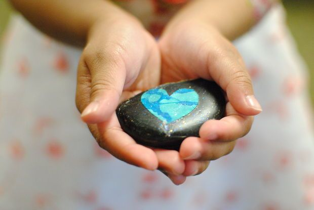 'Love rocks' in Forest Grove: Crafting and finding decorated rocks honors girls killed in crash (photos and video) | OregonLive.com