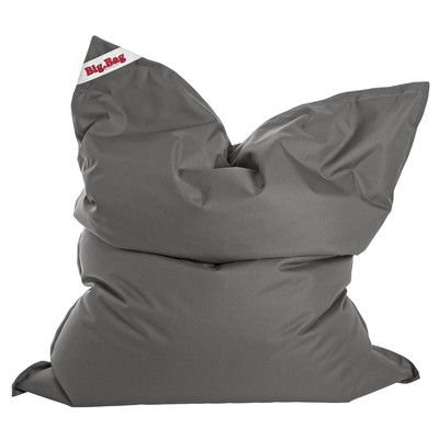 Big Bag Brava Bean Bag Chair Upholstery: Grey - http://delanico.com/bean-bag-chairs/big-bag-brava-bean-bag-chair-upholstery-grey-641177716/