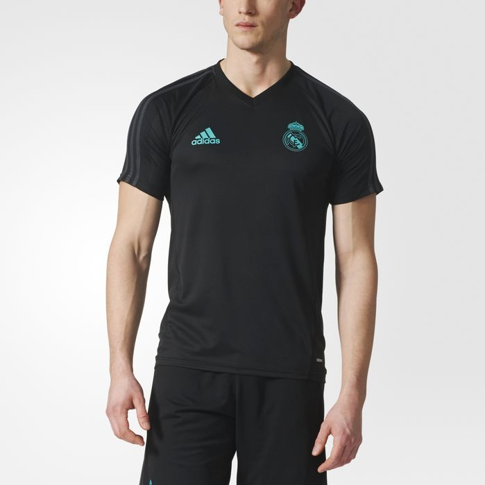 adidas Real Madrid Authentic Training Jersey - Mens Soccer Jerseys
