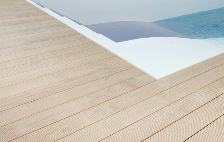 Accoya deck boards, supplied by Atlas Wood were installed at a - laminat f r k chen