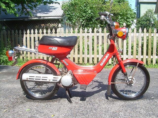 mine <33  Suzuki FA50 Moped