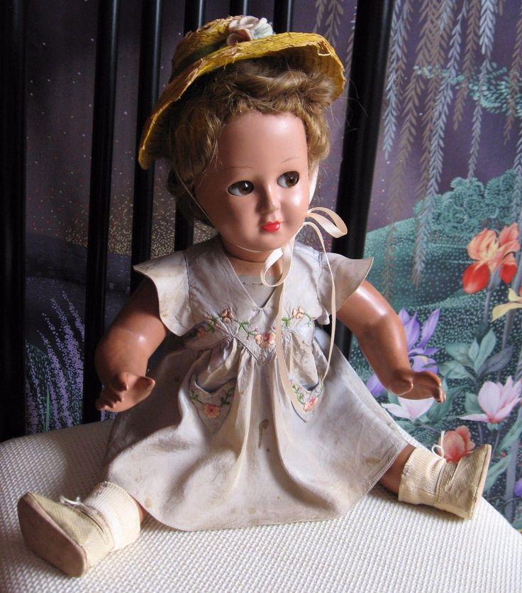 BAMBOLA BONOMI ITALY IN COMPOSIZIONE ANNI '40 VESTITO ORIGINALE     DOLL | Giocattoli e modellismo, Bambole e accessori, Bambole antiche | eBay!