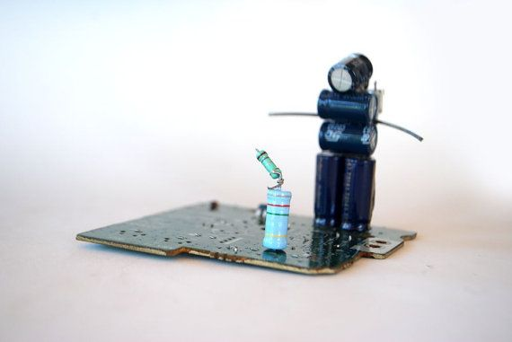Zi Tsa Lou by Phygitales on Etsy #robots, #phygitales, #Phyci_Digi_Land, #animation, #comics, #art, #sculpture, #recycled_PCB, #recycled_electronics, #figurine, #recycled_computer, #Recycled_Circuit_Board, #computer_parts, #recycled_electronics, #recycled