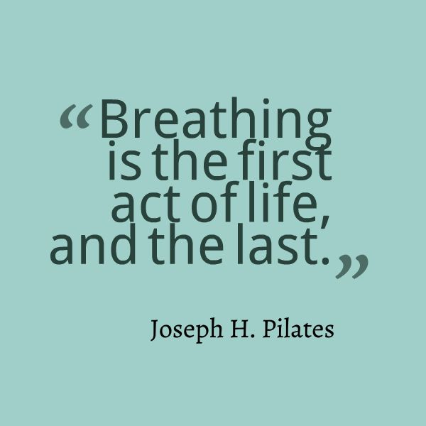 Joseph Pilates, and the quintessential truth of breathe.  www.thepilatesflow.com.sg