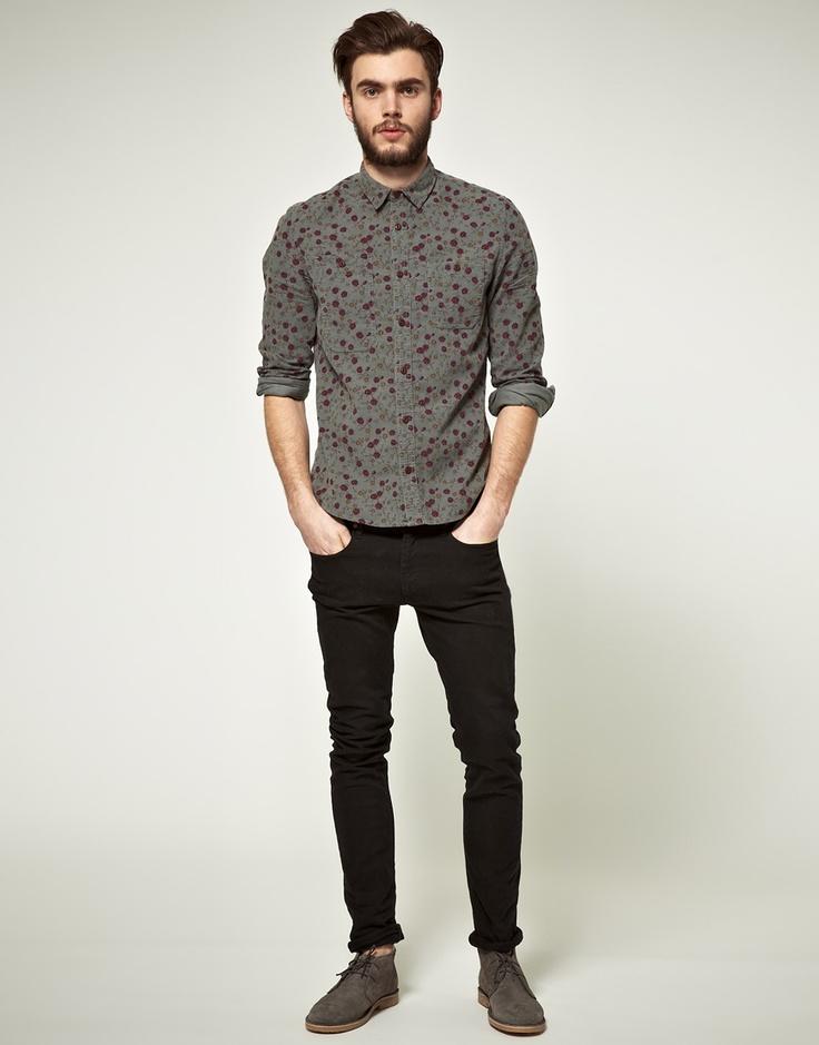 pattern shirt - darker