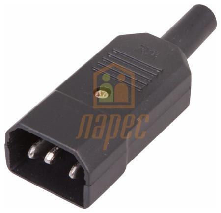 Rexant Cетевой штекер на шнур  rexant  — 1000 руб. —  Cетевой штекер на шнур используется для подключения сетевого шнура к оборудованию. Штекер шнуровой соединяется с кабелем любым удобным способом (клеммы, скрутка, зажимы). Имеет три контакта: ноль, фаза и заземление, к которым с одной стороны крепится сетевой шнур, а другая подсоединяется к оборудованию.
