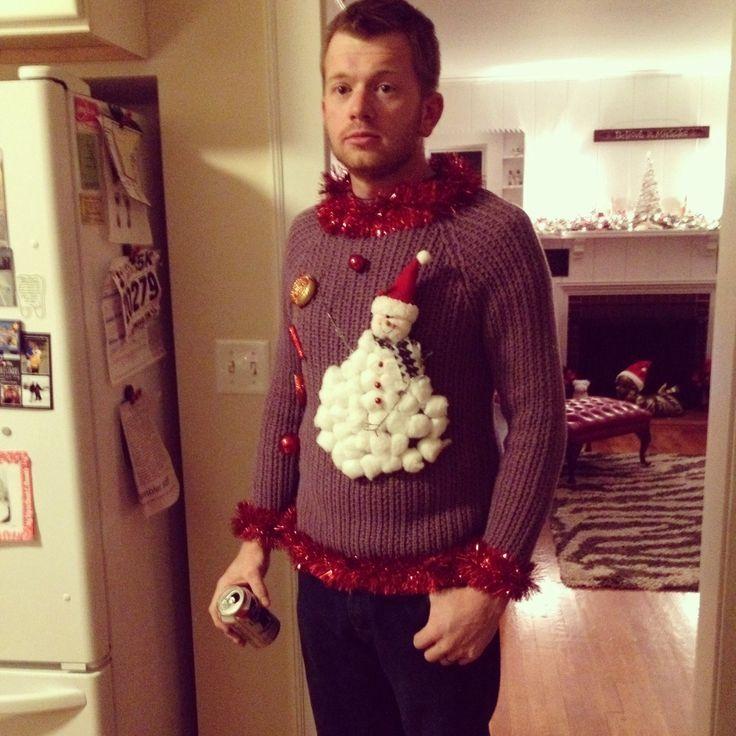 Ideas, Homemade ugly christmas sweater and Homemade on